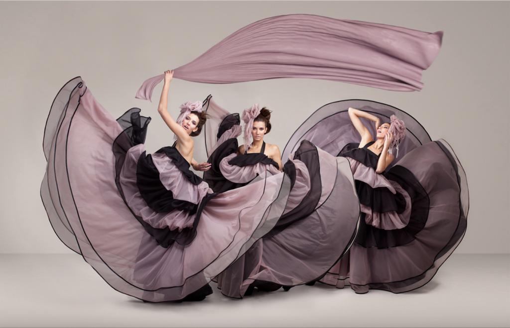 Vestidos de la colección Onion de Javier Núñez