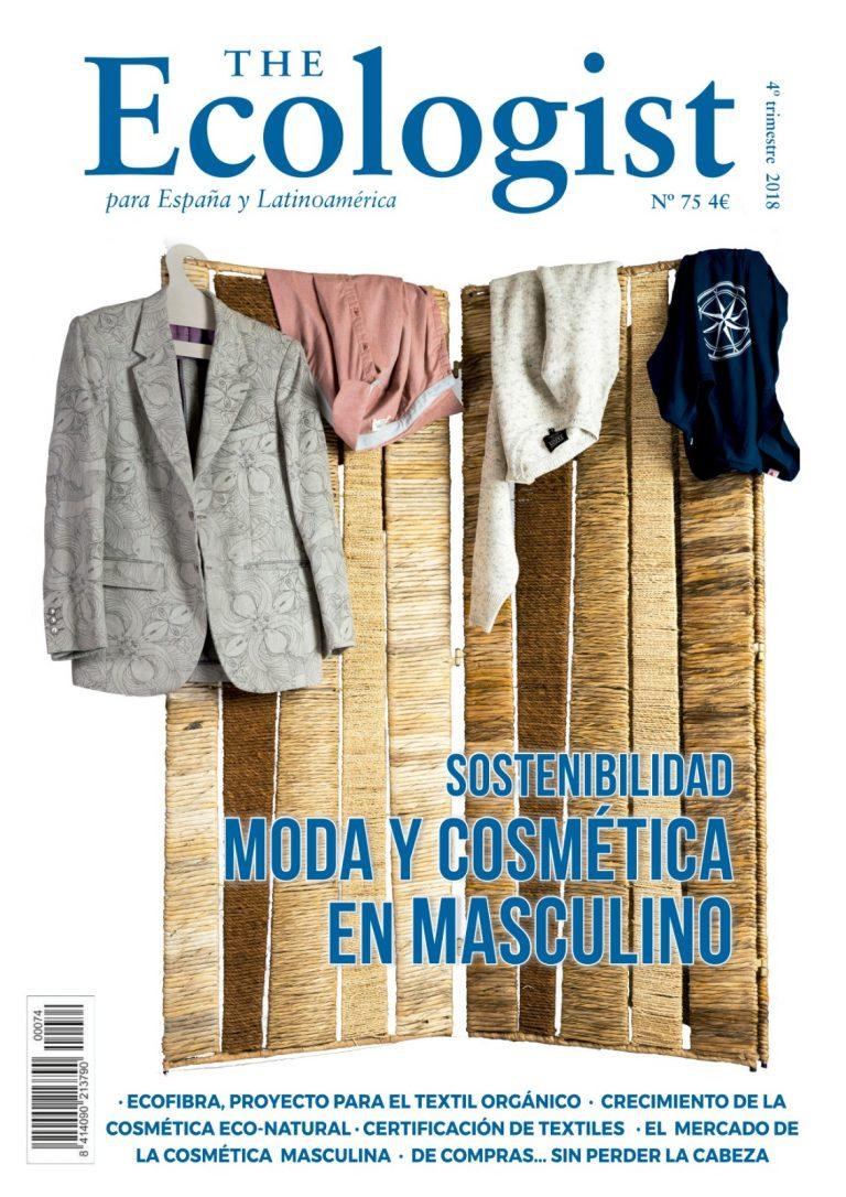 Moda y Cosmética Sostenible en masculino